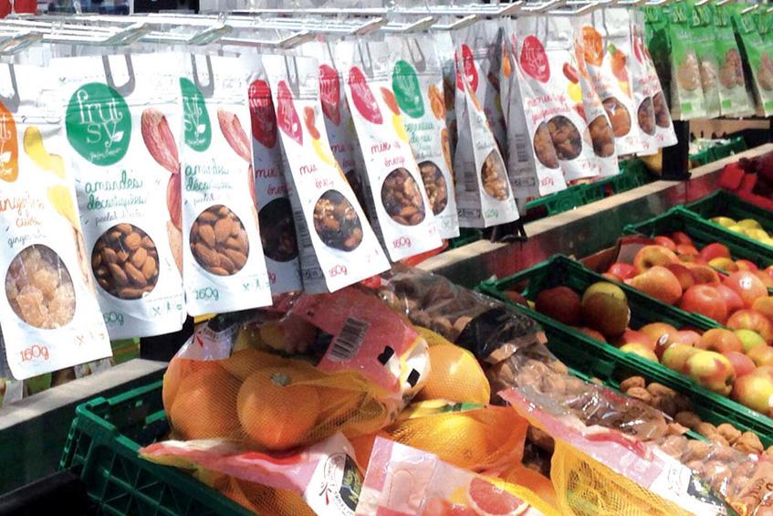 Rayon fruits secs : un vent de fraîcheur avec la gamme de fruits secs Frutsy